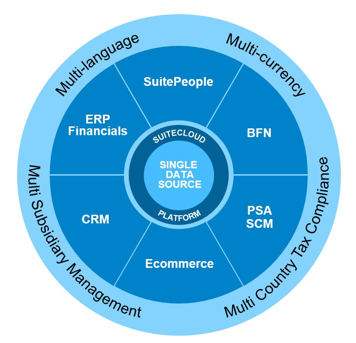 SuiteCloud Platform Wheel, what is netsuite