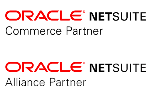 NetSuite Commerce Agency Partner and NetSuite Alliance Partner logos, SuiteCommerce Advanced experts