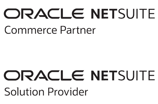 NetSuite Commerce Agency Partner logo and NetSuite Solution Partner logo, NetSuite SuiteCommerce Advanced experts