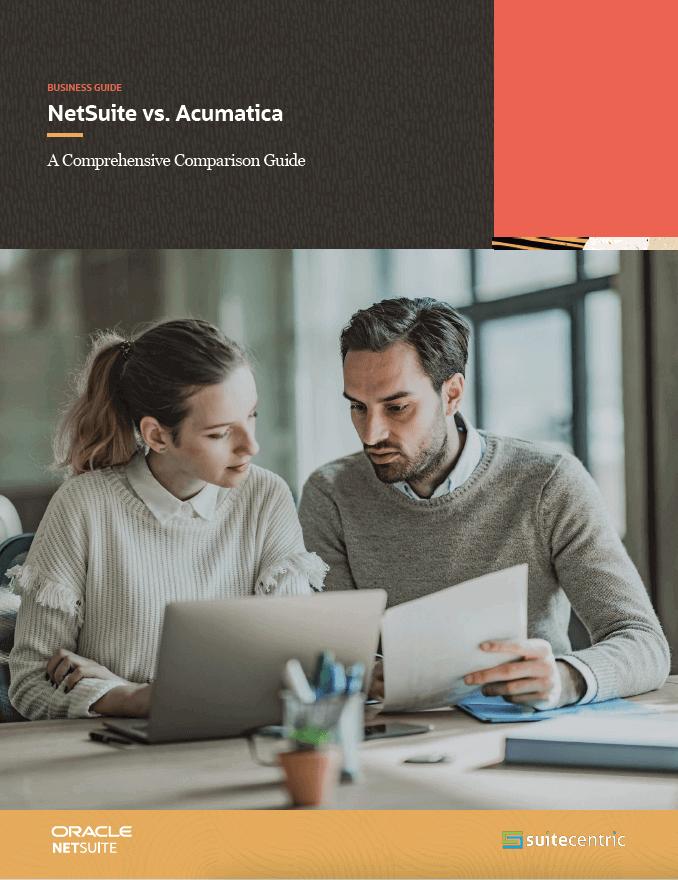 NetSuite White Paper-Acumatica switch to NetSuite-SuiteCentric, netsuite vs acumatica