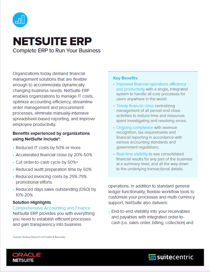 NetSuite-ERP-2-Pager-SuiteCentric, netsuite datasheets