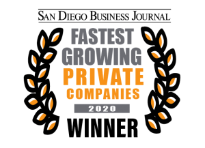 San Diego Business Journal 2020 Fastest-Growing Private Companies Winner - SuiteCentric