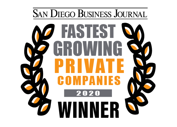 San Diego Business Journal 2020 Fastest-Growing Private Companies Winner, NetSuite for Manufacturing