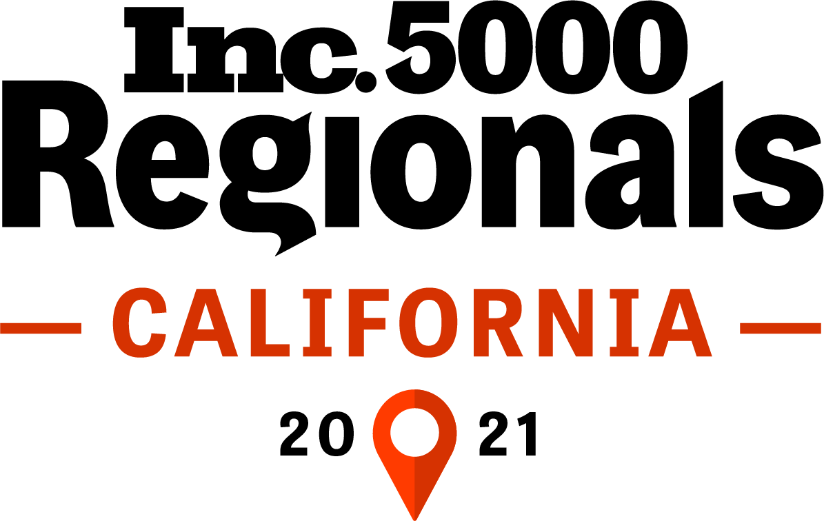 Inc. 5000 Regionals California List 2021 logo - SuiteCentric
