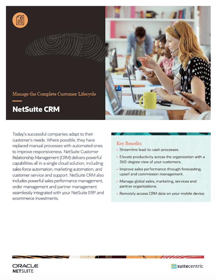 NetSuite-CRM-SuiteCentric, netsuite wholesale distribution