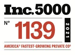 Inc. 5000 Ranking-SuiteCentric 2021